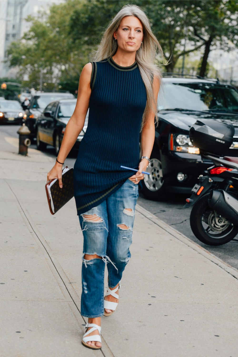 studded hearts NYFW Spring Summer 2015 shows streetstyle 27