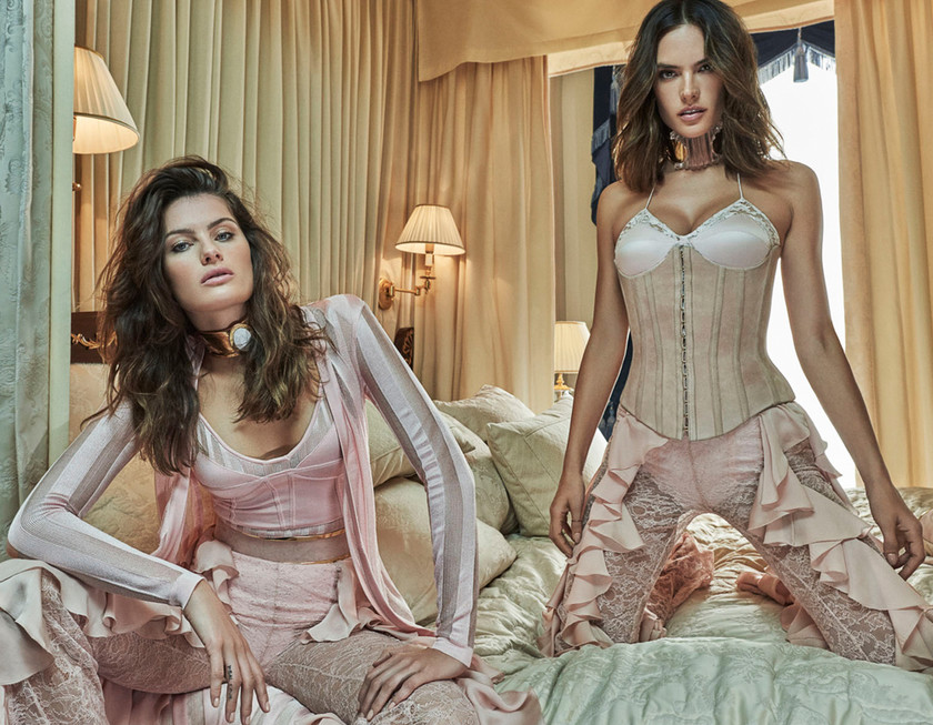 Vogue Brazil October 2016 Isabeli Fontana and Alessandra Ambrosio by Mariano Vivanco 1 2
