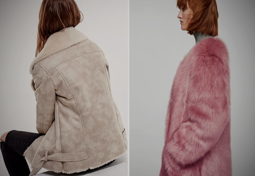 faux fur coats fall 2017