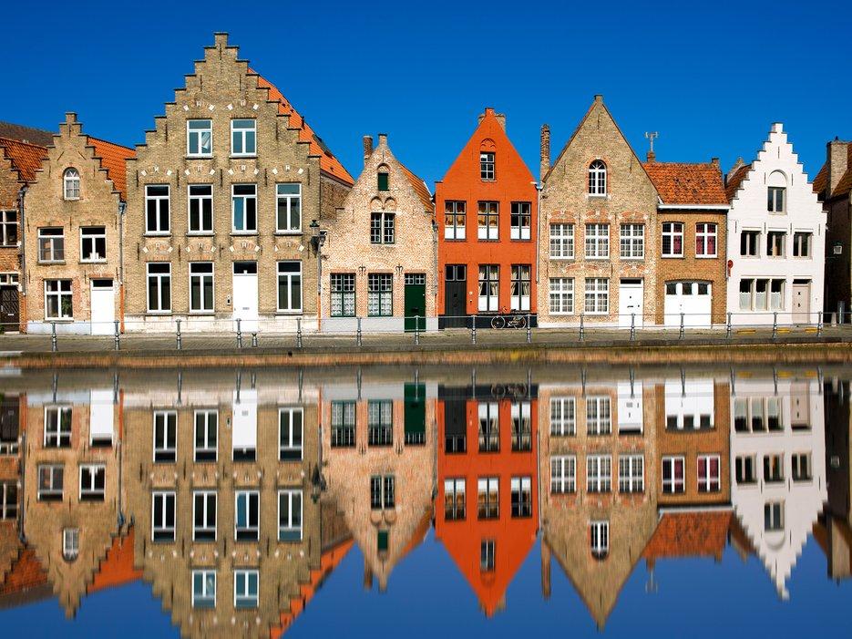 7. Bruges Belgium