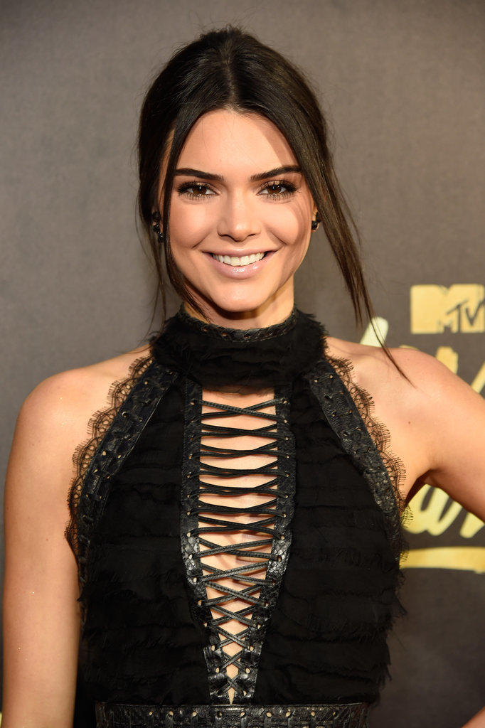 Kendall Jenner Hair MTV Movie Awards 2016 2