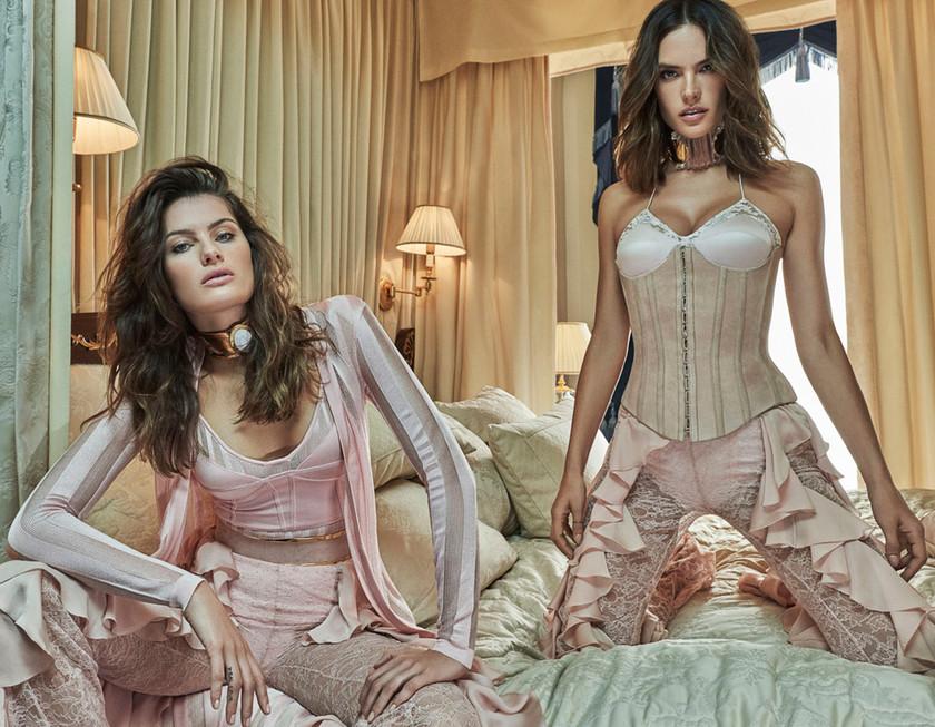 Vogue Brazil October 2016 Isabeli Fontana and Alessandra Ambrosio by Mariano Vivanco 1 2