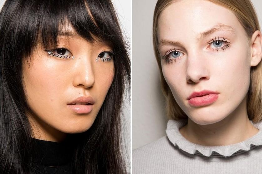 makeup trends fall 2017 tadashi shoji msgm