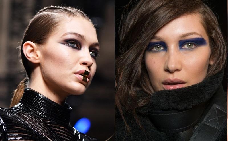 makeup trends fall 2017 balmain versace