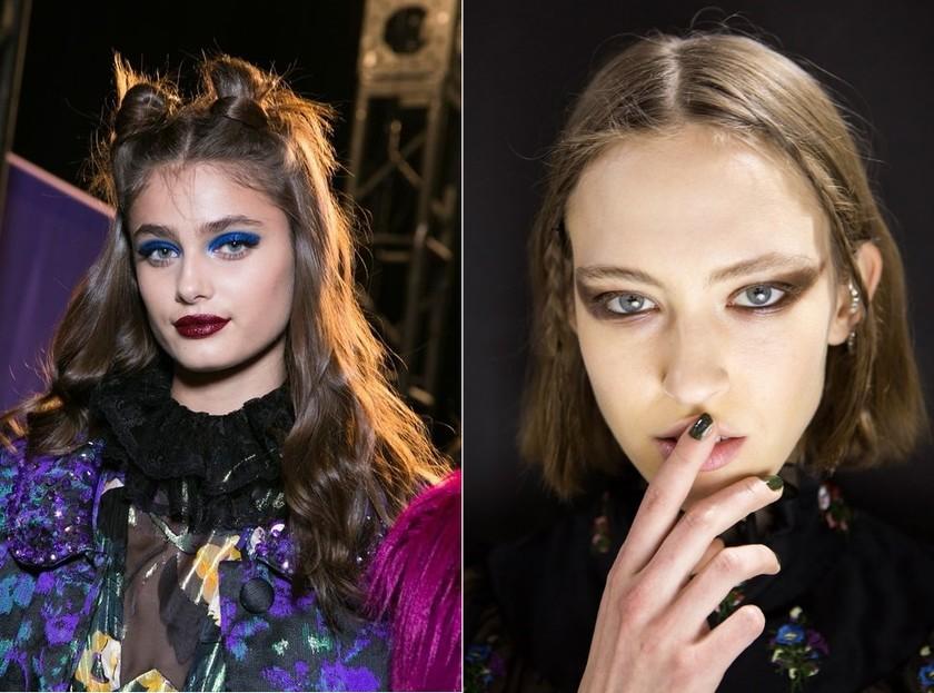 makeup trends fall 2017 anna sui Jill Stuart
