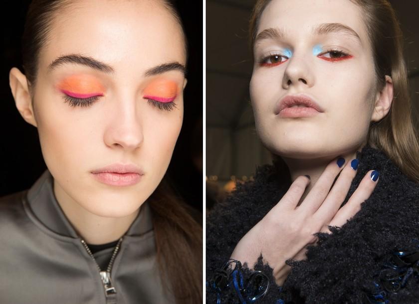 makeup trends fall 2017 oscar de la renta Byblos