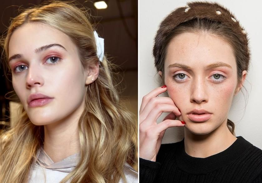 makeup trends fall 2017 trussardi altuzarra