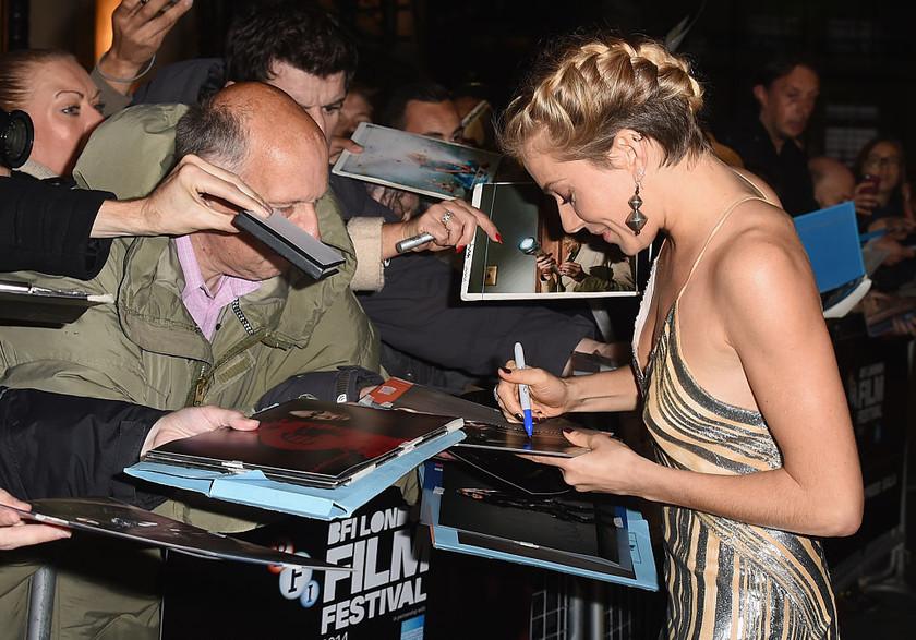 Foxcatcher premiere bfi london film festival 2014 sienna miller