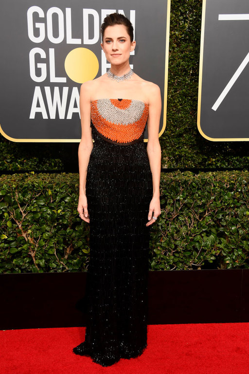 Allison Williams Golden Globes 2018