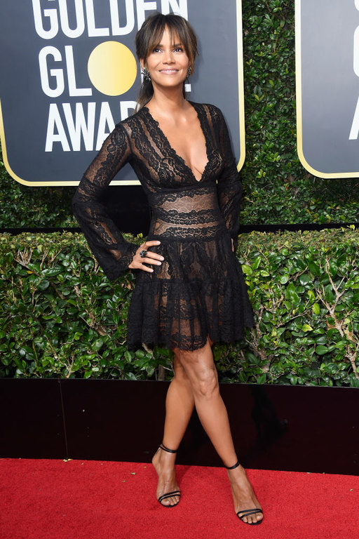 Halle Berry Golden Globes 2018