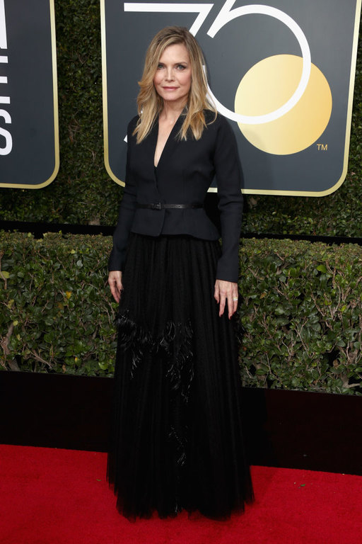 Michelle Pfeiffer Golden Globes 2018