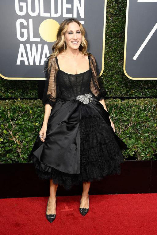 Sarah Jessica Parker Golden Globes 2018