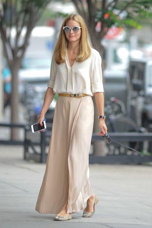 Η Olivia Palermo φορά τα neutrals στην πόλη 7a5d178cc10