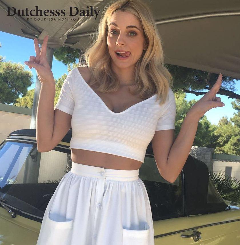 52197fedc421 Αυτά είναι τα αγαπημένα μου ρούχα για τη φετινή Άνοιξη και το Καλοκαίρι:  Φωτογραφίες και video!   Dutchesss Daily