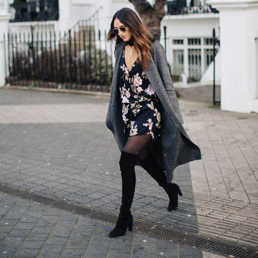 847277d6be4d Το outfit που ξεχώρισα σήμερα  Πώς να φορέσεις ένα floral φόρεμα τον ...
